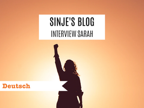 Sinje's Blog: Interview Sarah