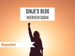 Sinje's Blog: Interview Sarah