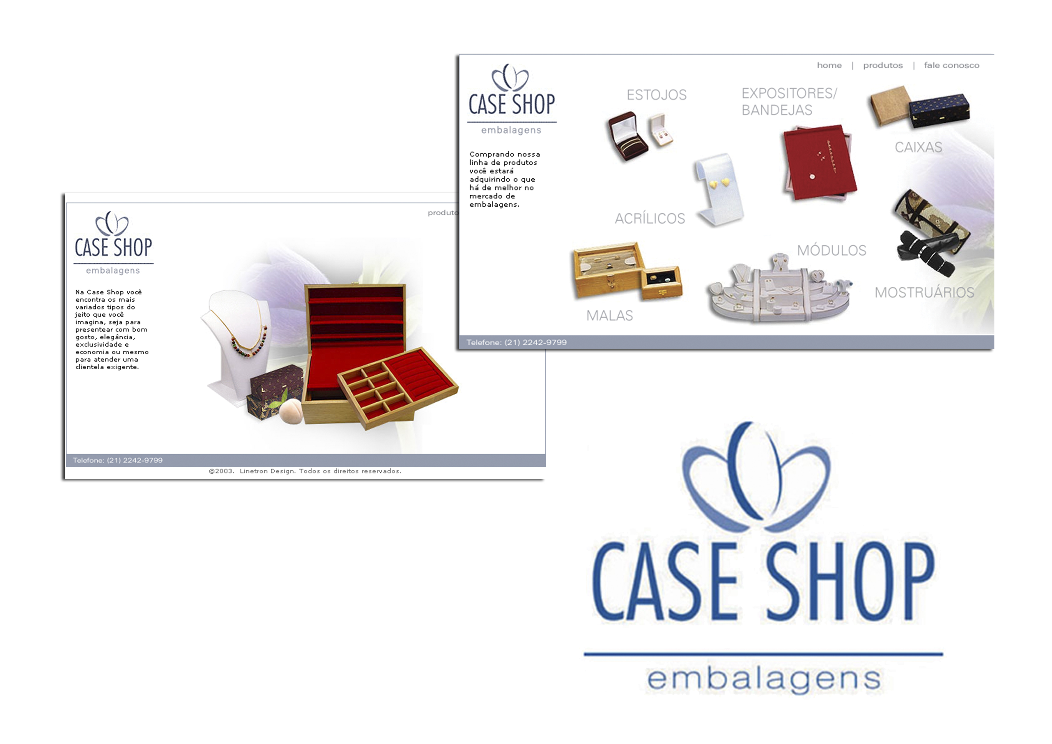 Caseshop - Embalagens