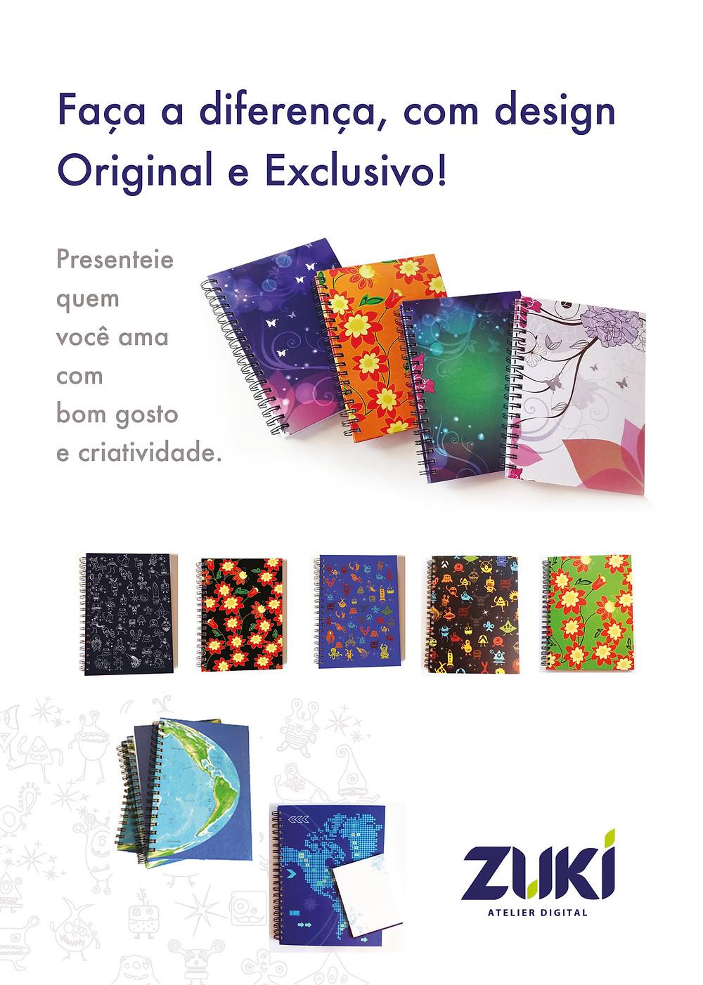 Folder promocional da ZUKI