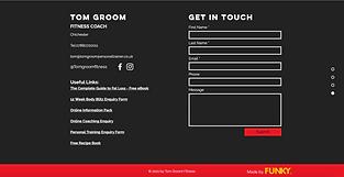 Tom Groom Fitness - Funky Websites.png