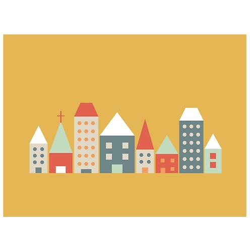 block folk city - mustard