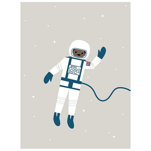 astronaut - grey