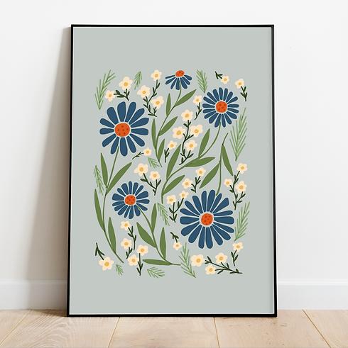 melimba retro spring floral 1666 mockup.
