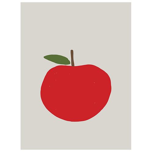 apple - grey