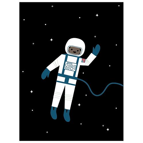astronaut - black
