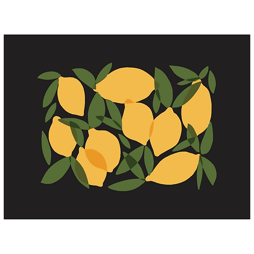 mod lemons - black