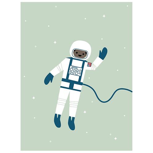 astronaut - pigeon