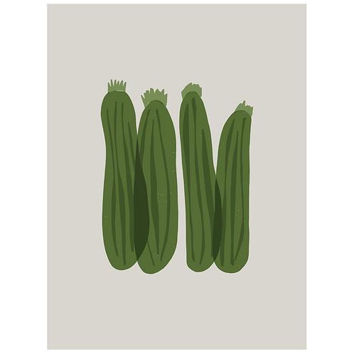 zucchini - grey