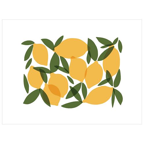 mod lemons - white