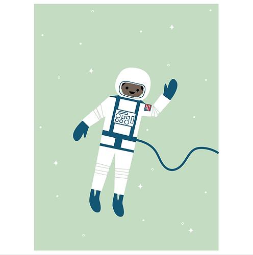 astronaut - mint