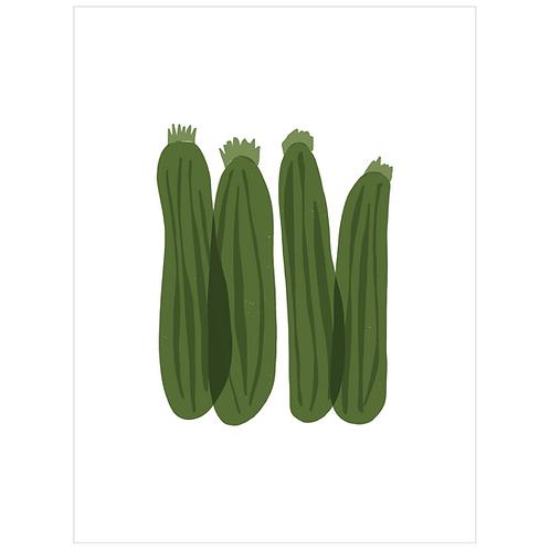 zucchini - white