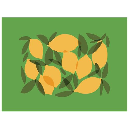 mod lemons - green