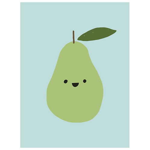 happy pear - powder blue