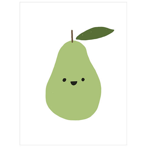 happy pear - white