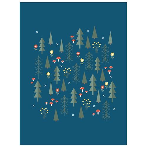 folk forest - navy