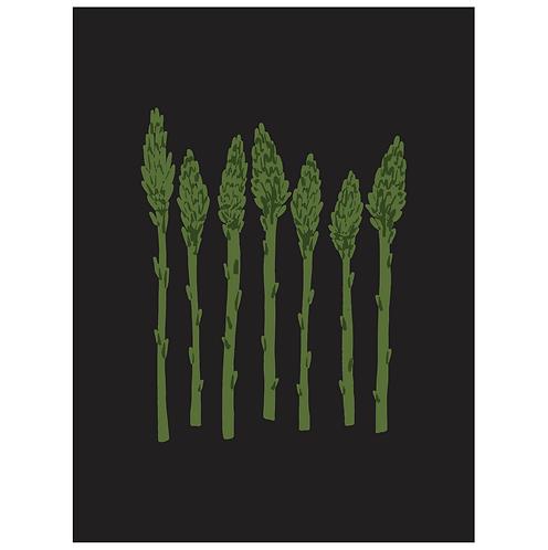 asparagus - black