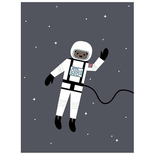 astronaut - dark charcoal