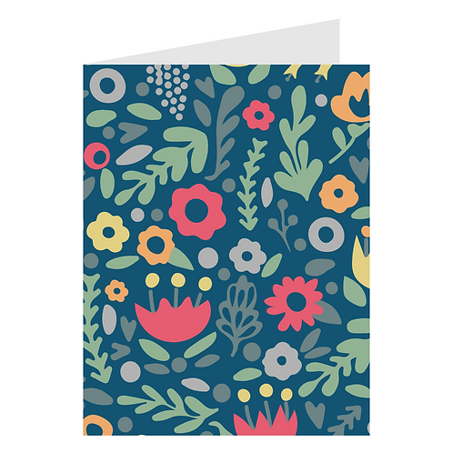 beatrix navy floral