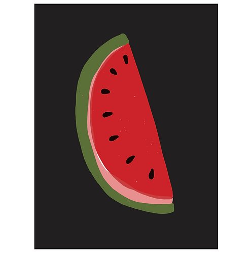 watermelon - black