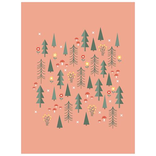 folk forest - salmon