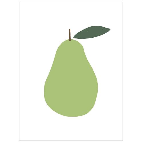 pear - white