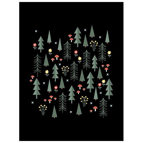 folk forest - black