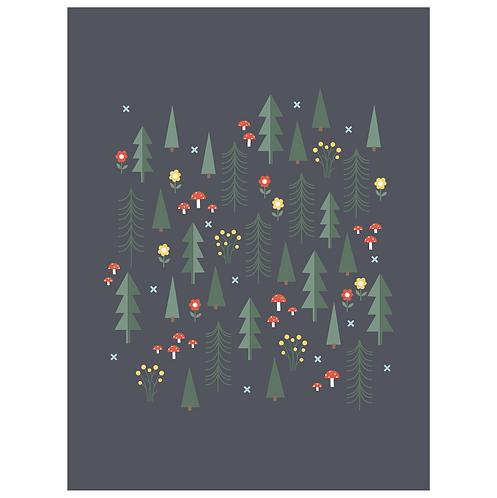 folk forest - dark charcoal