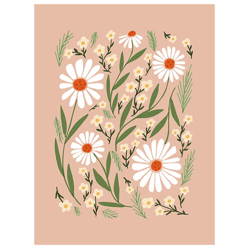 retro spring floral - SKU 1666
