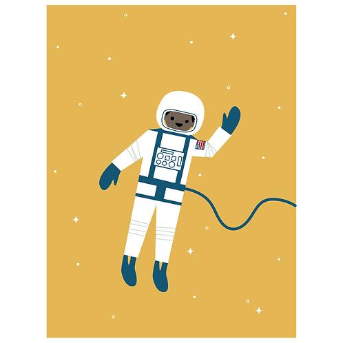 astronaut - mustard