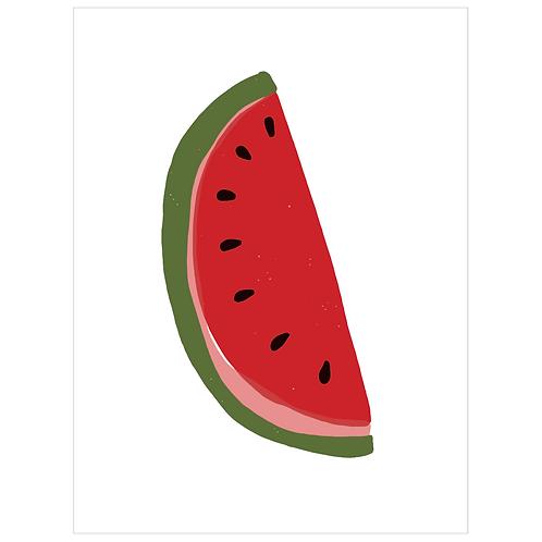 watermelon - white