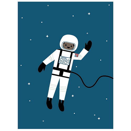 astronaut - navy