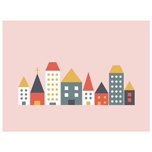 block folk city - pink