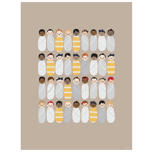 babies art print - SKU 1637
