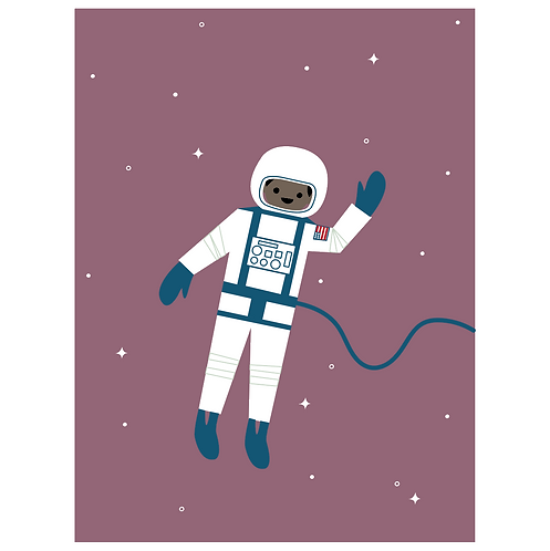astronaut - grape
