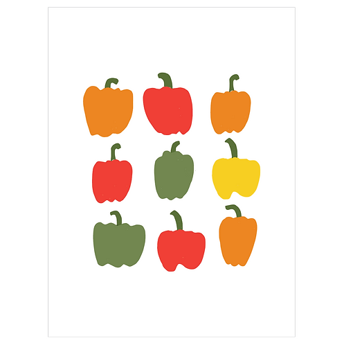 bell peppers - white