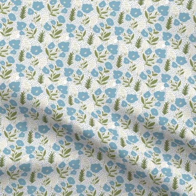 melimba POCKET FULL OF POSIES fabric
