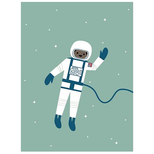 astronaut - dark seafoam