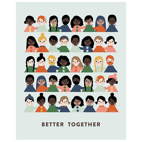 better together art print - SKU 1663