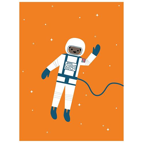 astronaut - orange