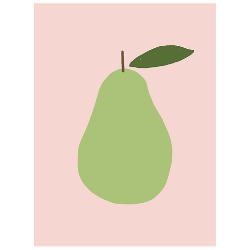 pear - pink