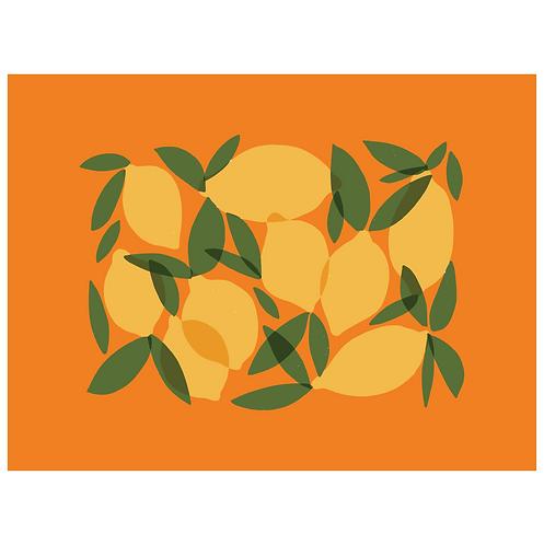 mod lemons - orange