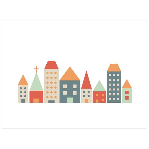 block folk city - white