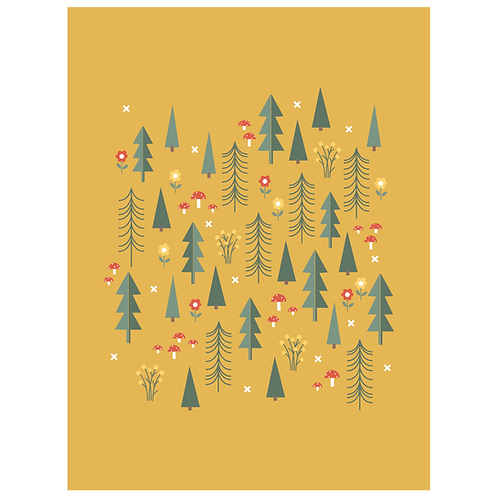 folk forest - mustard
