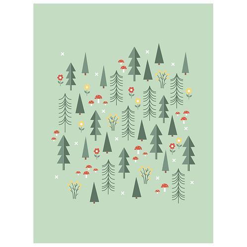 folk forest - mint