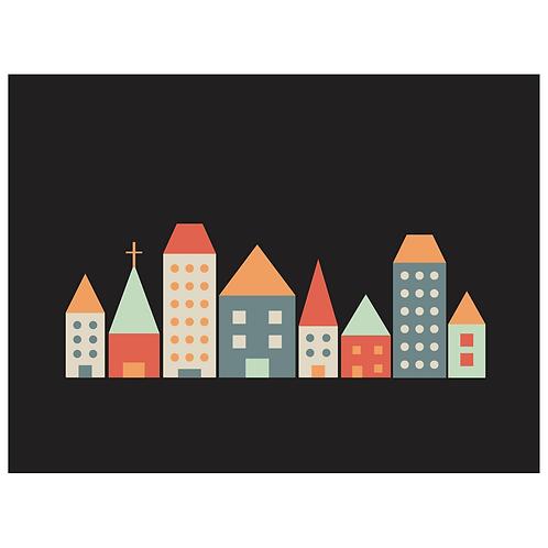 block folk city - black