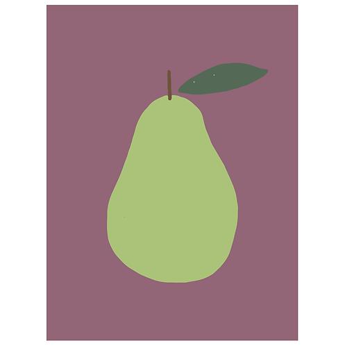 pear - grape