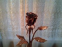 Кованая роза.