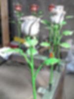 Кованый бутон розы