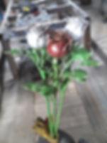 Кованый элемент роза
